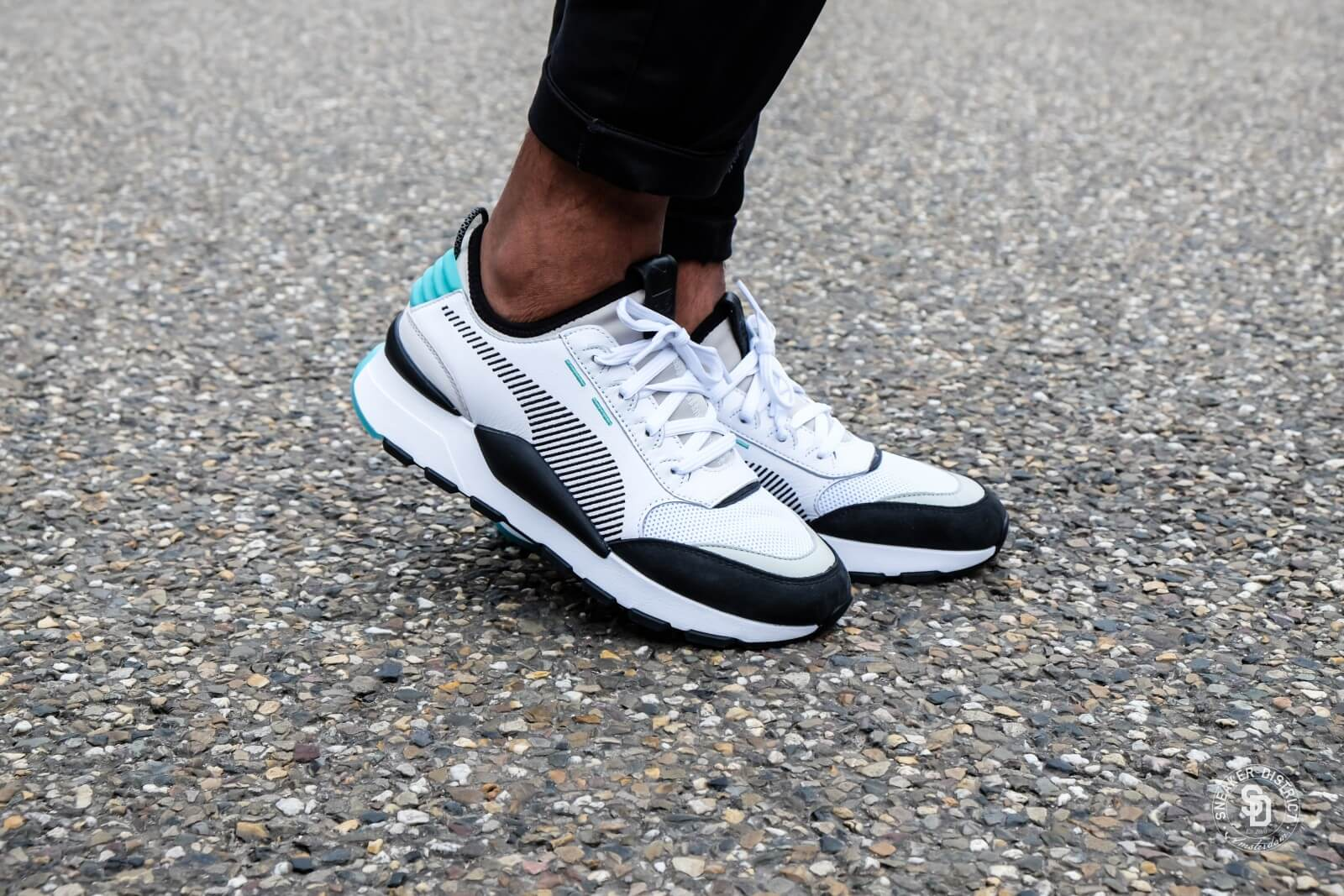 Puma RS-0 Re-Invention White/Gray-Violet Biscay Green - 366887-01