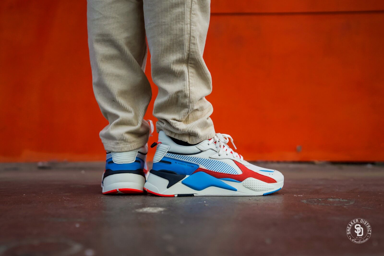Puma RS-X Reinvention Whisper White/Red Blast - 0369579-01