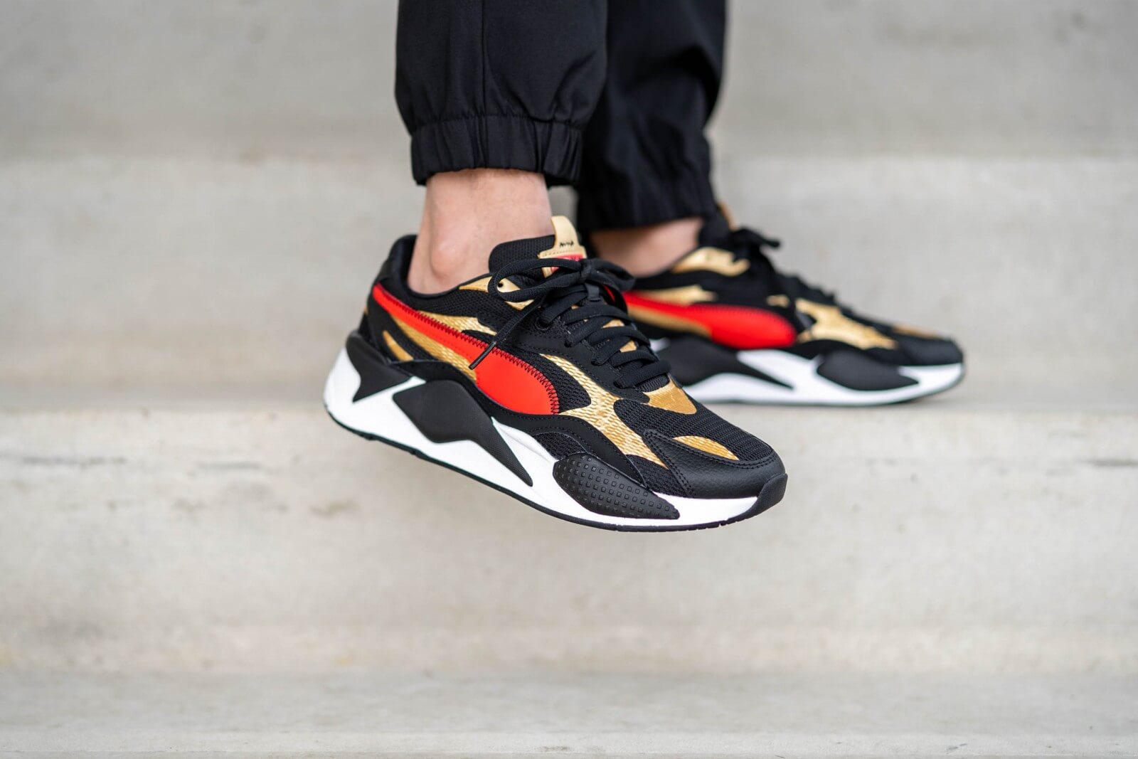 Puma RS-X3 Chinese New Year Black/High Risk Red - 373178-02