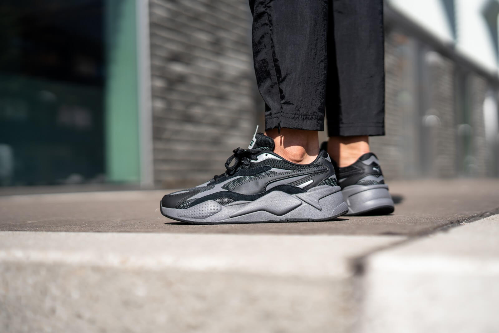 Puma RS-X3 Puzzle Puma Black/Castle Rock - 371570-02