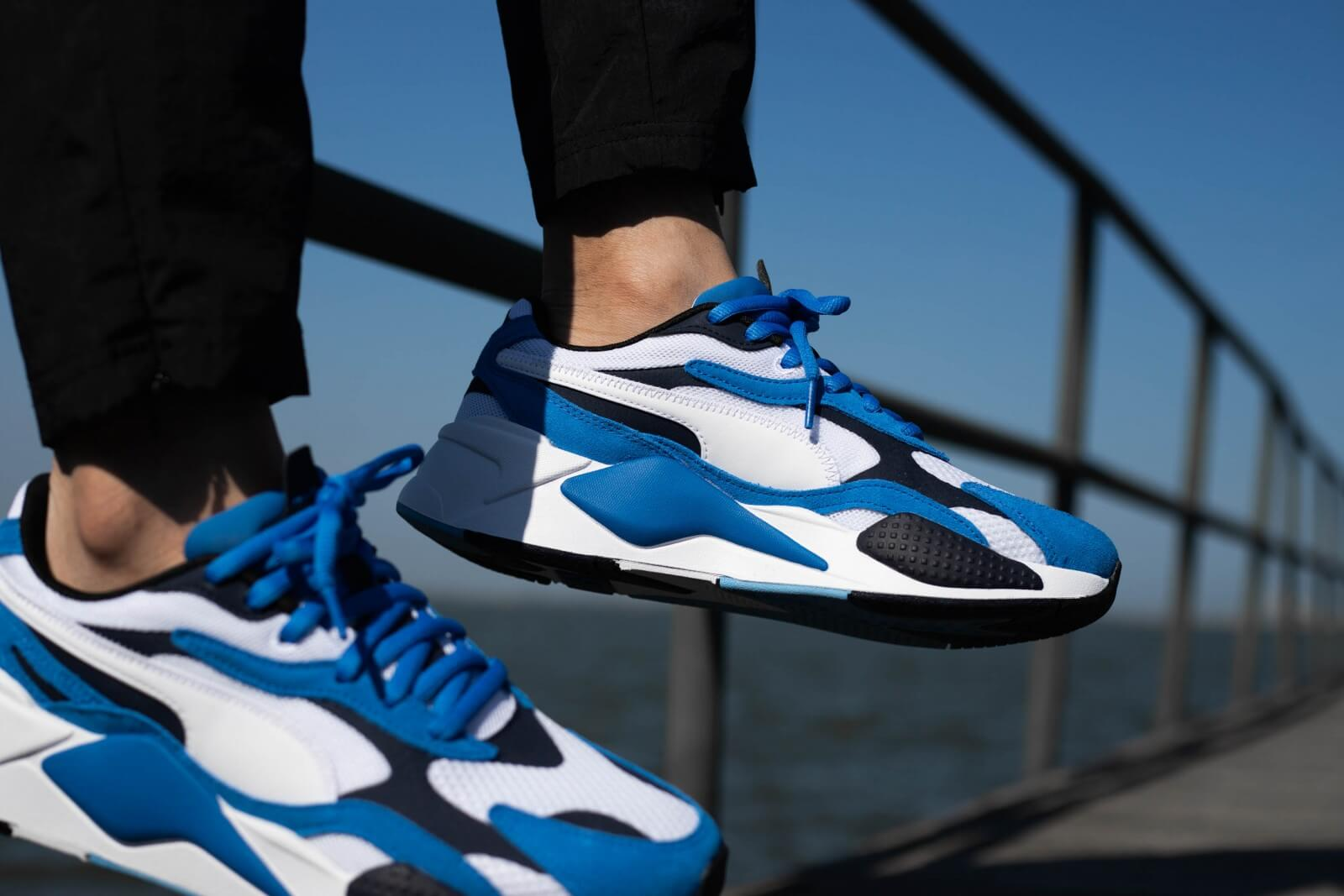 Puma RS-X3 Super Palace Blue/Puma White - 372884-02