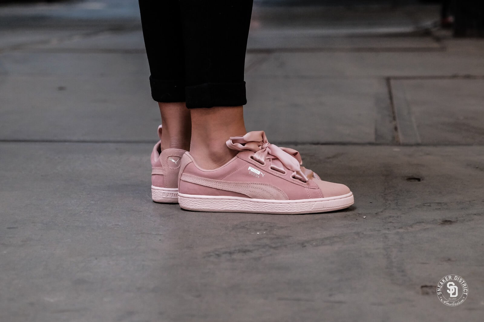 Puma Suede Heart Pebble Wn's Peach Beige Pearl | Footshop