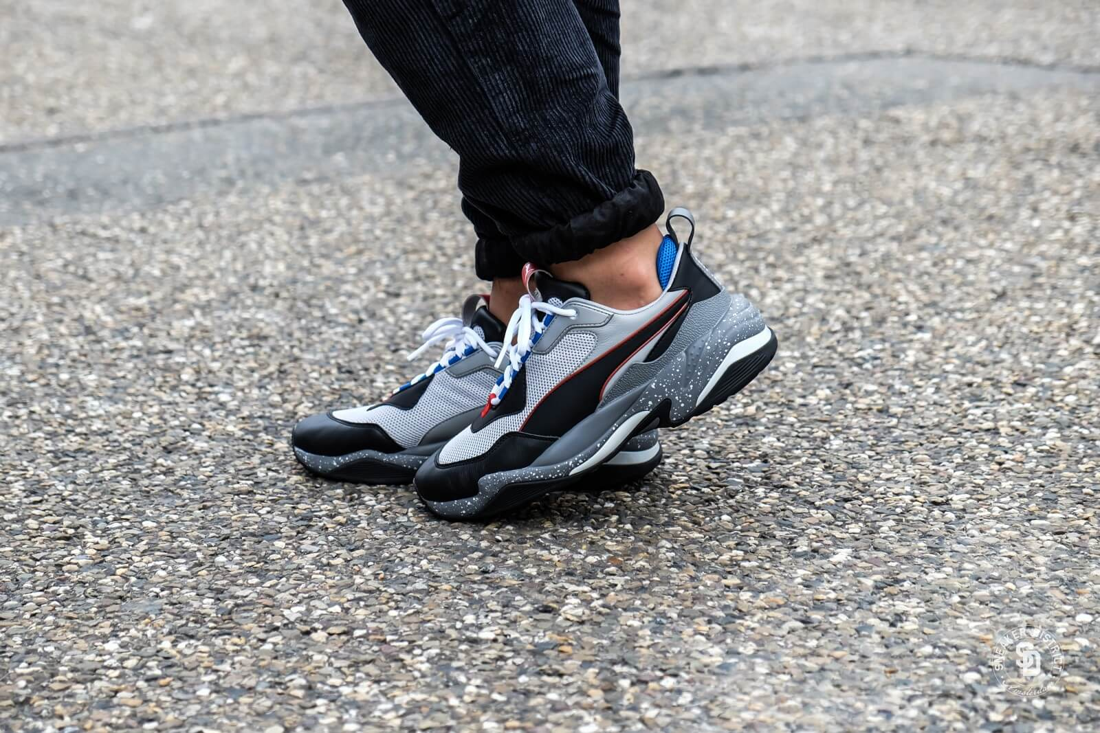 Puma Thunder Electric Gray Violet/Black-Quiet Shade - 0367996-02