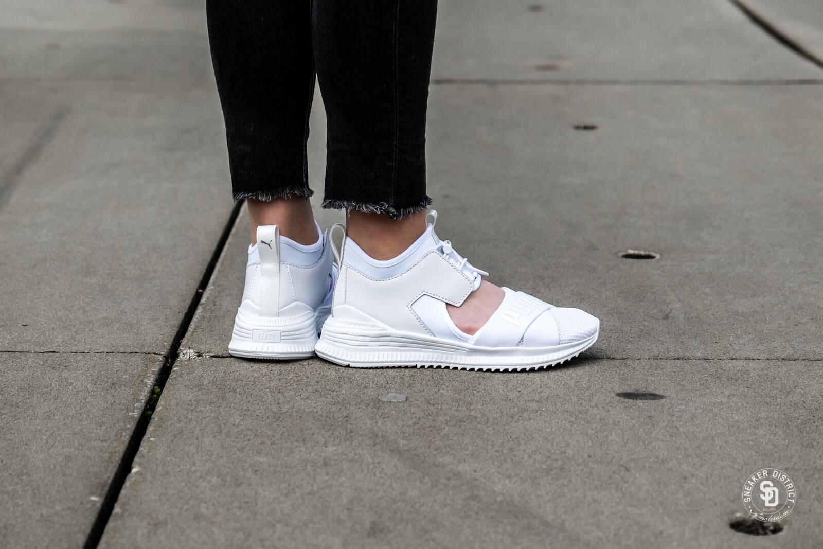 Women/'s PUMA Fenty Avid Sneaker White