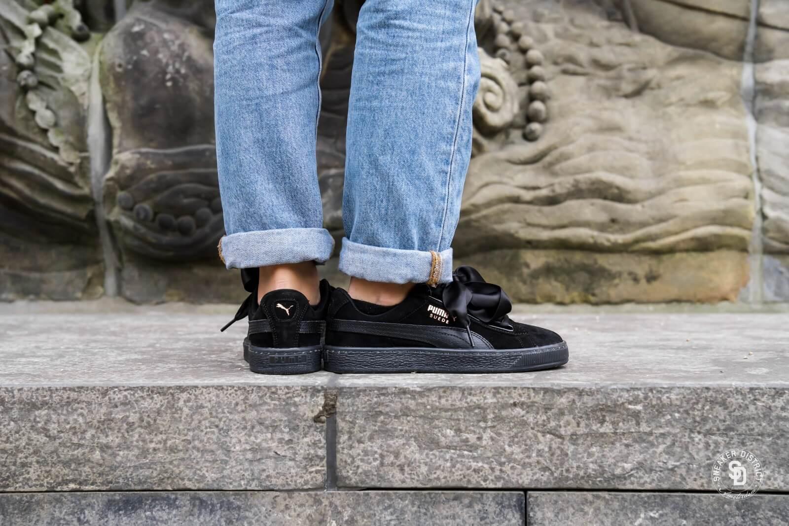 Puma Suede Heart Artica Sneaker für Damen Beige