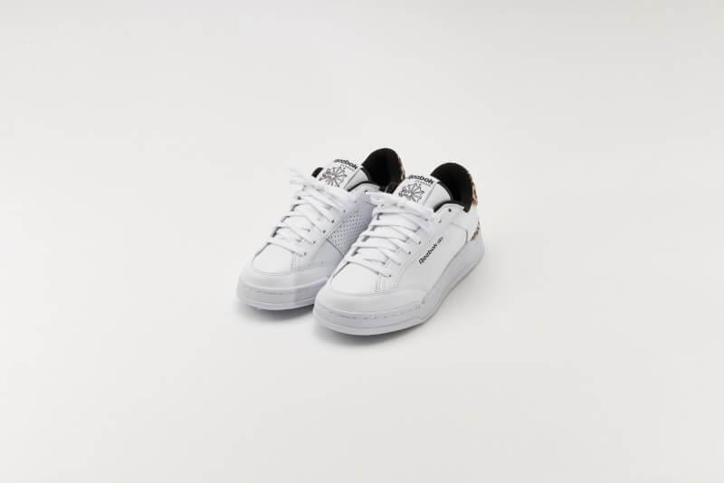 Reebok Women's Ad Court Leopard Footwear White/Core Black