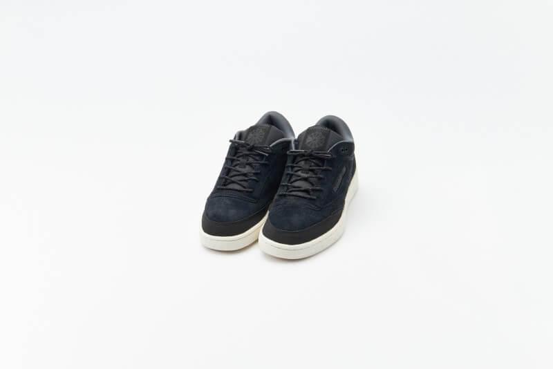 Reebok Club C Mid II Core Black / Pure Grey 7 / Chalk