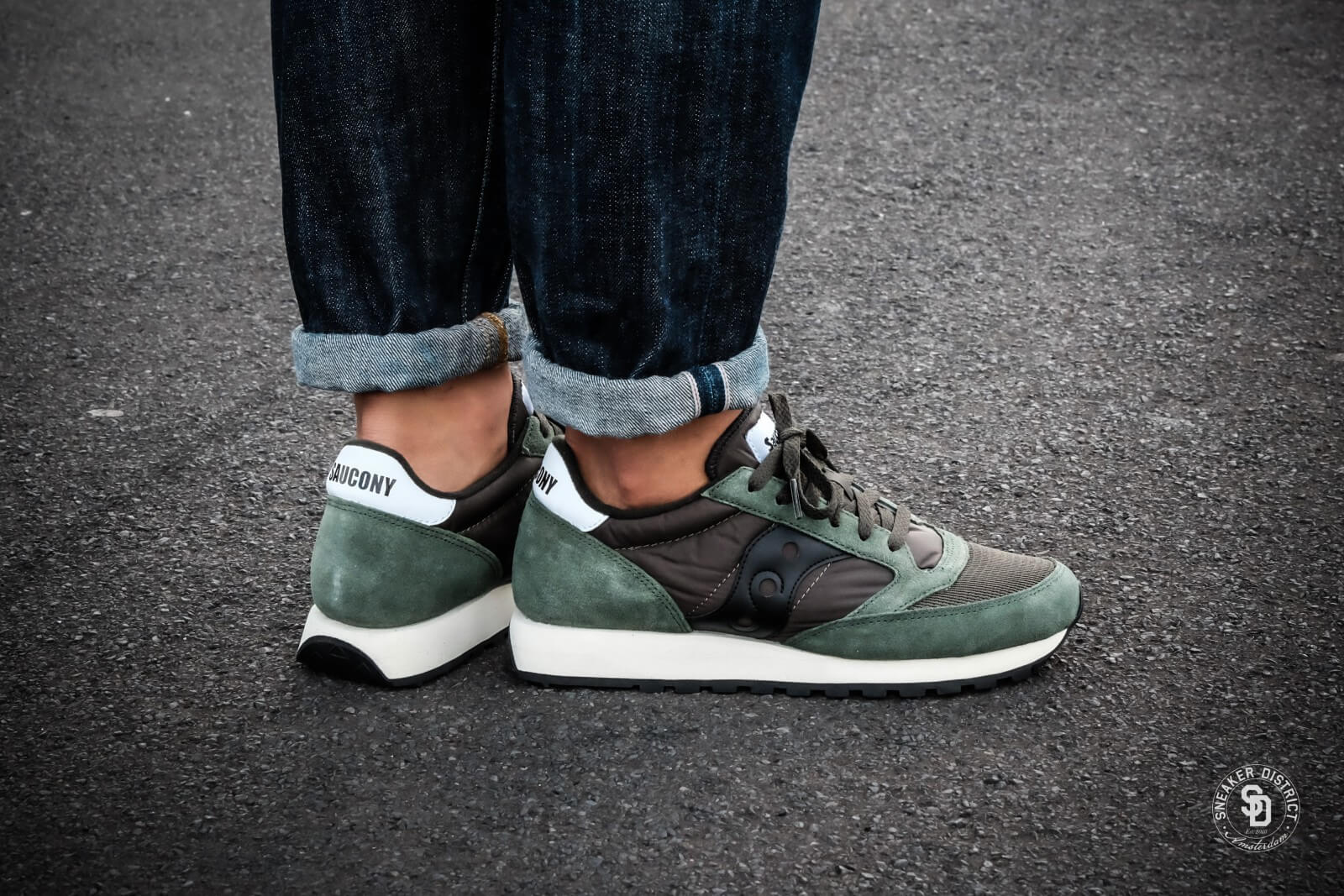 Saucony Jazz Original Vintage Dark GreenBlack S70368 8