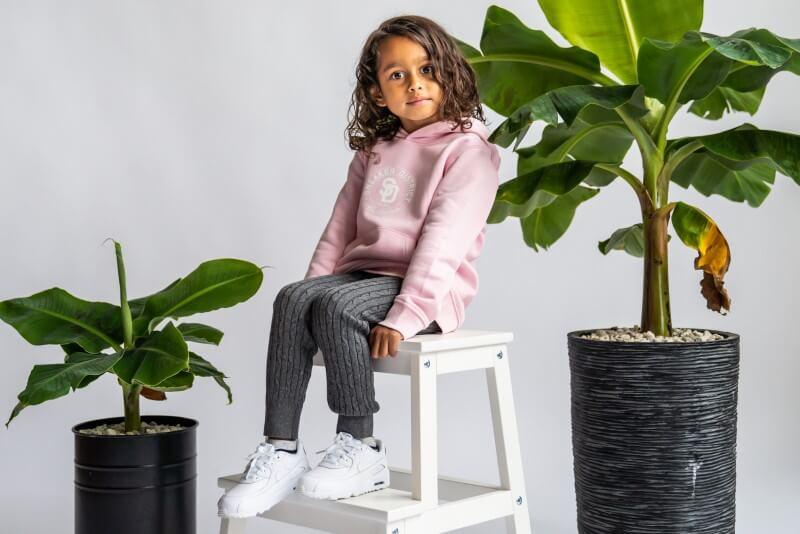 Sneaker District Kids Hoodie Pink
