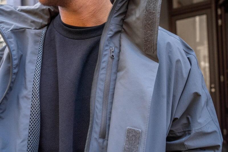 SHU Wide Jacket Dark Grey