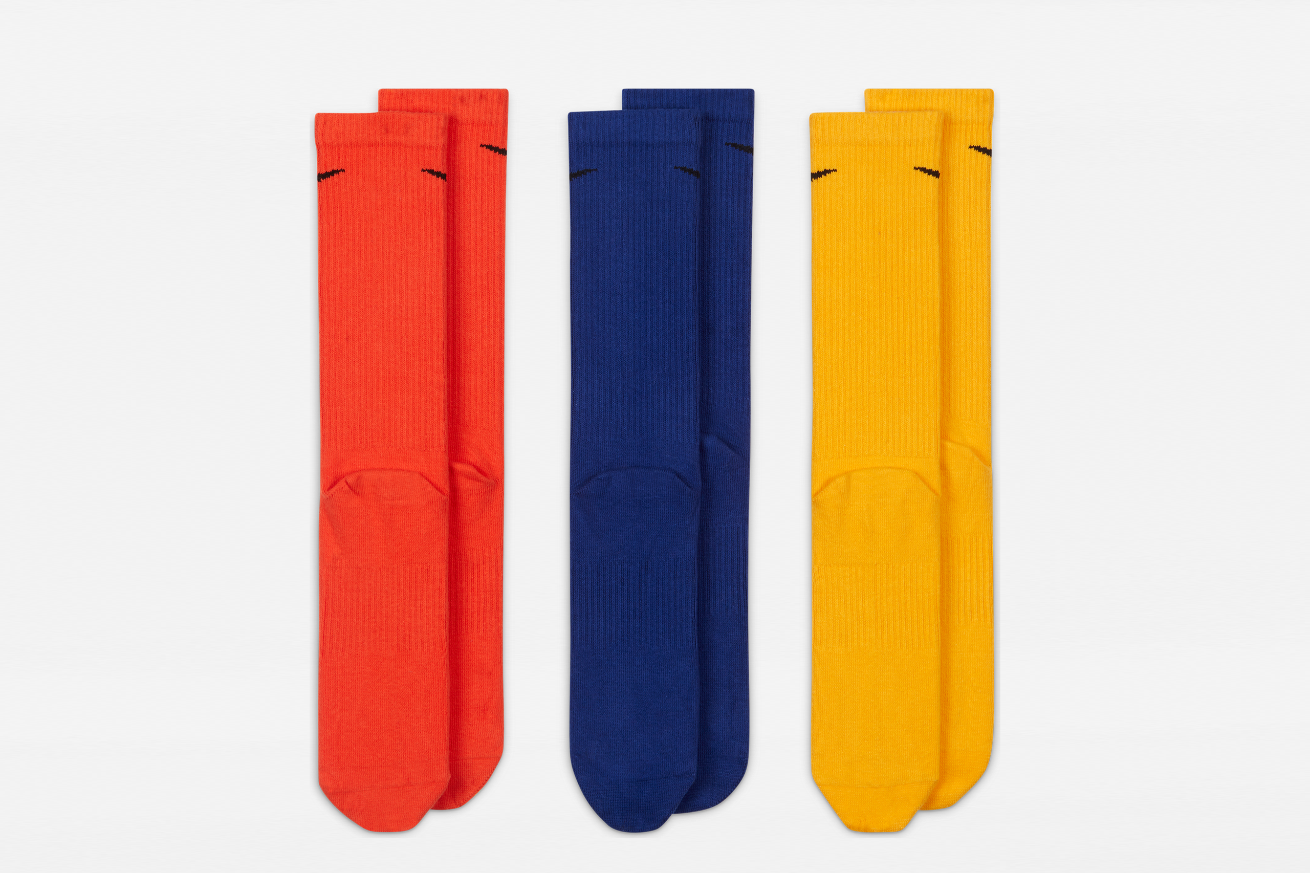 Nike Everyday Plus Lightweight Training Crew Socks Multicolor