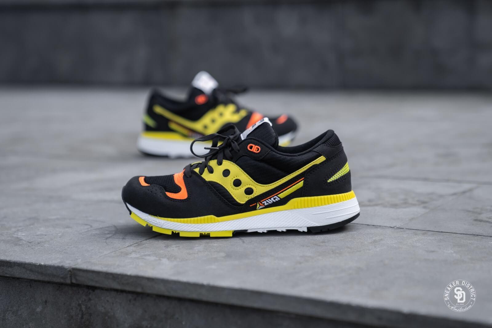 Saucony Azura BlackYellowOrange (S70437 3) | Shoes  Men's