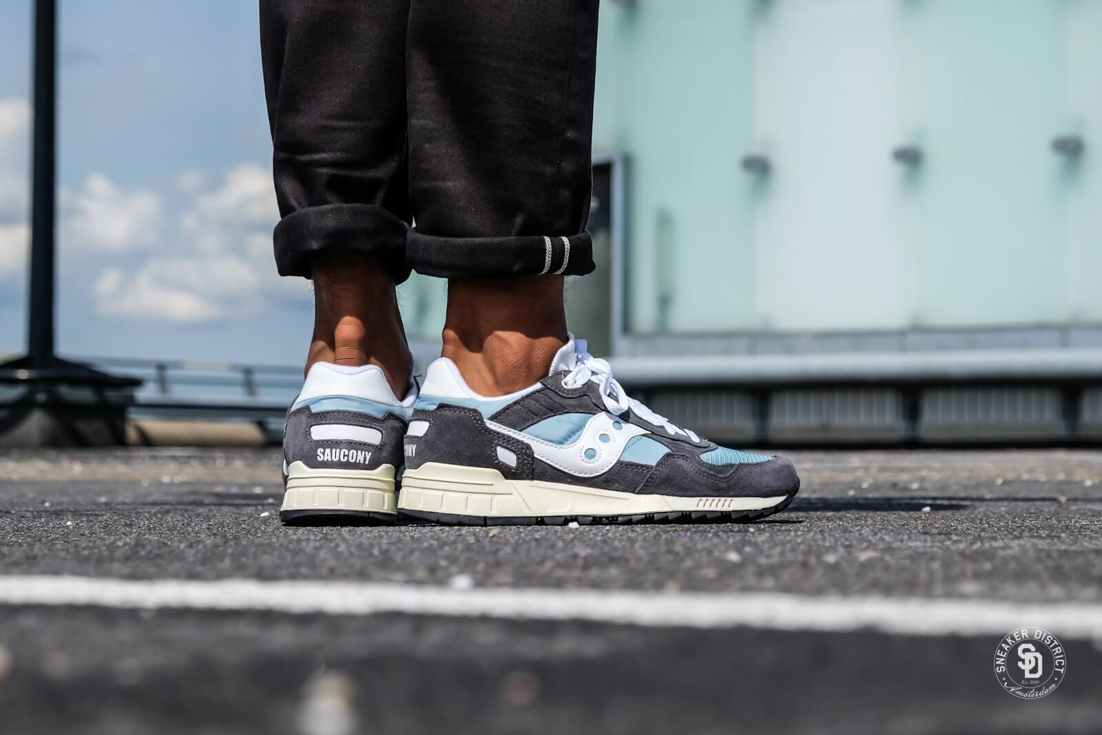 Saucony Shadow 5000 Vintage GreyBlueWhite (S70404 6