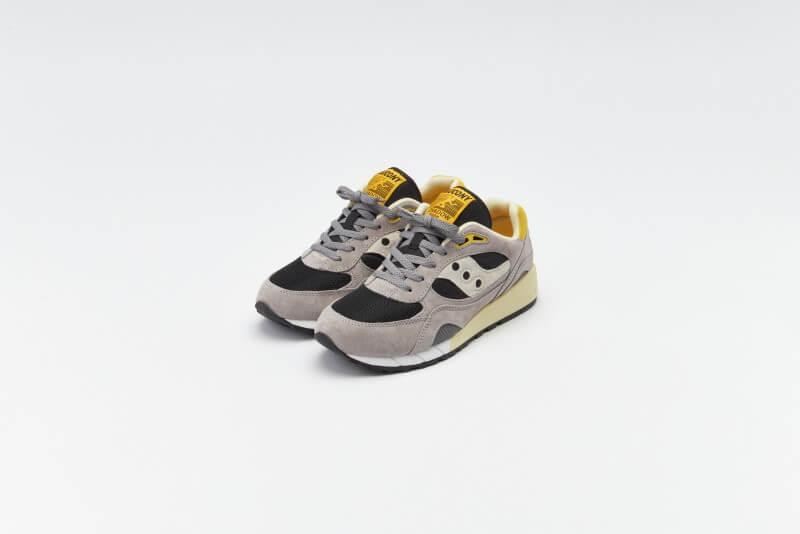 Saucony Shadow 6000 Grey / Black / Yellow