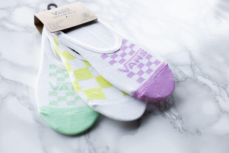 Vans Canoodle Rainy Day Check Socks Multi color