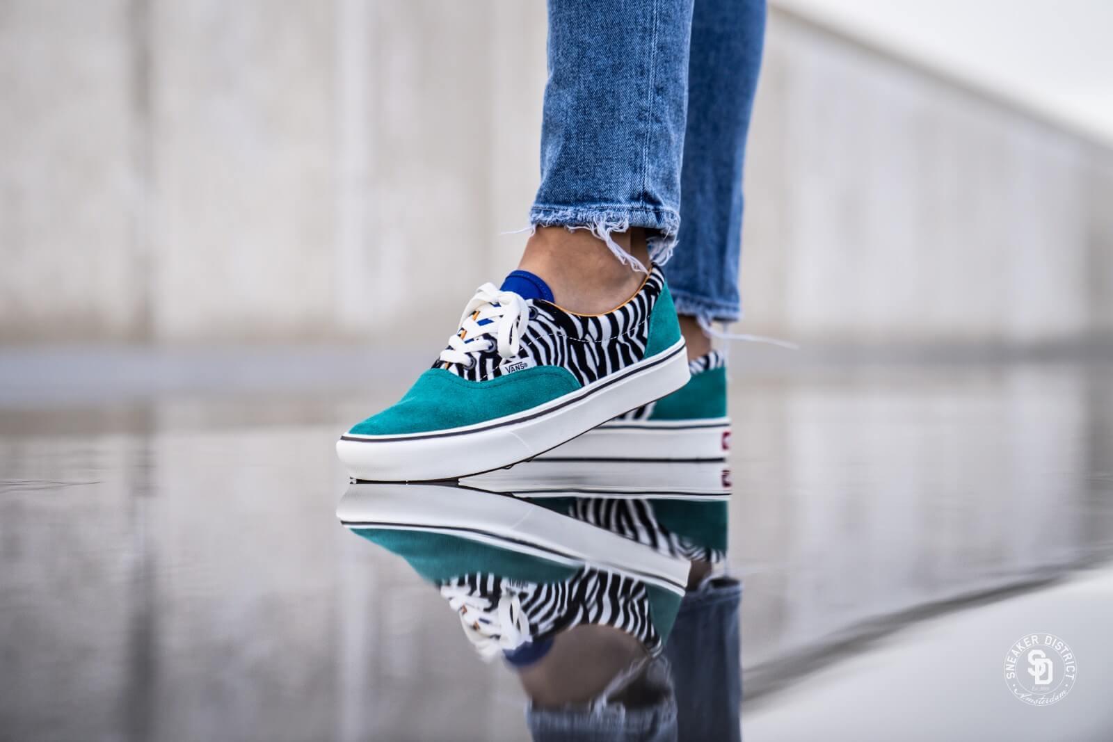 Vans ComfyCush Old Skool (blau zebra) | 43einhalb Sneaker Store