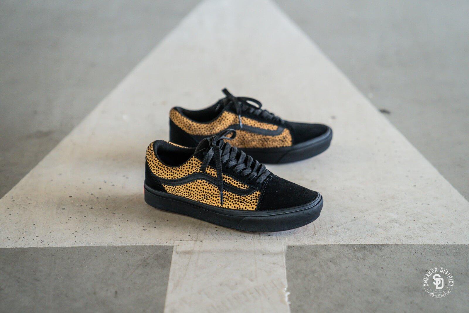 Vans Comfycush Old Skool Tiny Cheetah Black VN0A3WMAVWS1