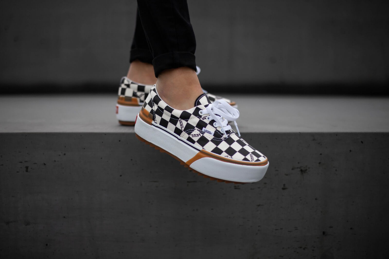 Vans Era Stacked Checkerboard - VN0A4BTOVLV1