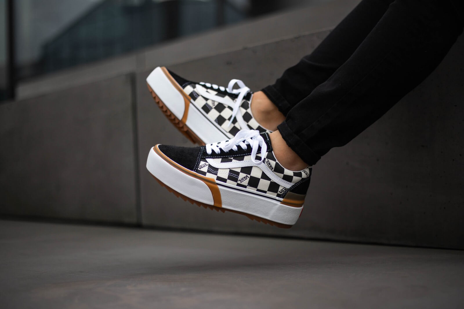 vans old skool stacked