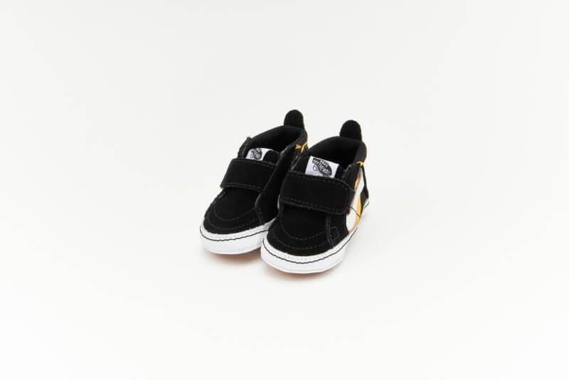 Vans Sk8-Hi Crib Hot Flame Black/True White