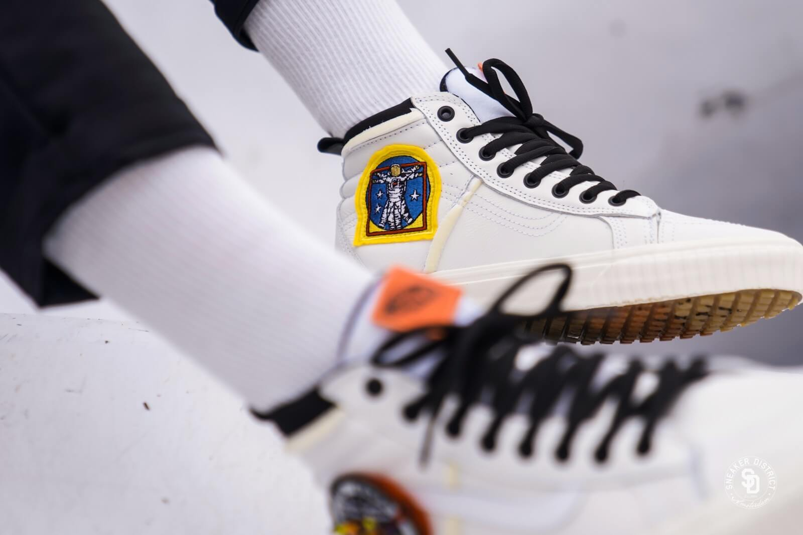 740be090a49 Details About Vans X Nasa Space Voyager Old Skool Sk8 Hi 46 Mte Dx