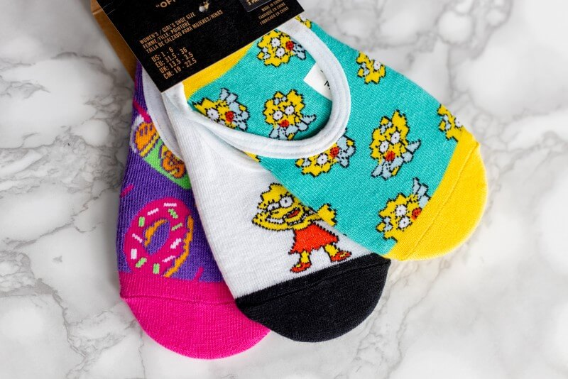 Vans x The Simpsons Canoodles 3 Pack Family