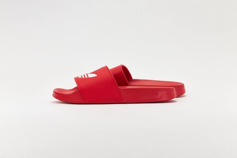 Adidas Adilette Lite Scarlet/Footwear White