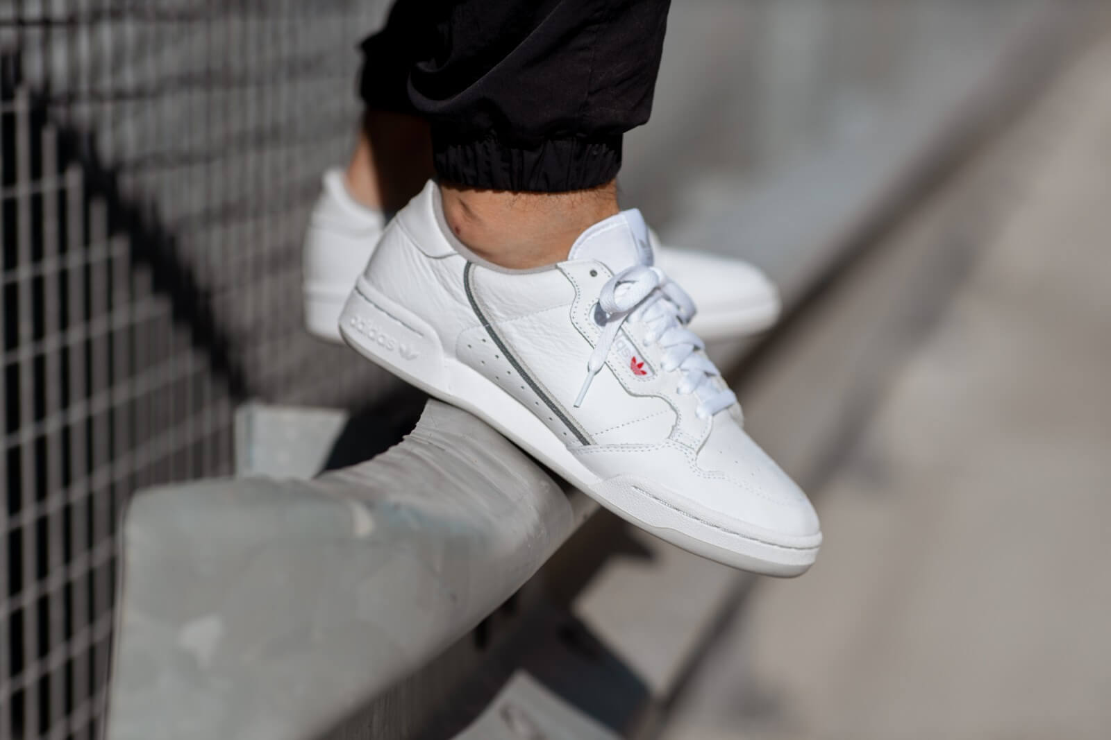 Adidas Continental 80 Cloud White/Grey - EE5342