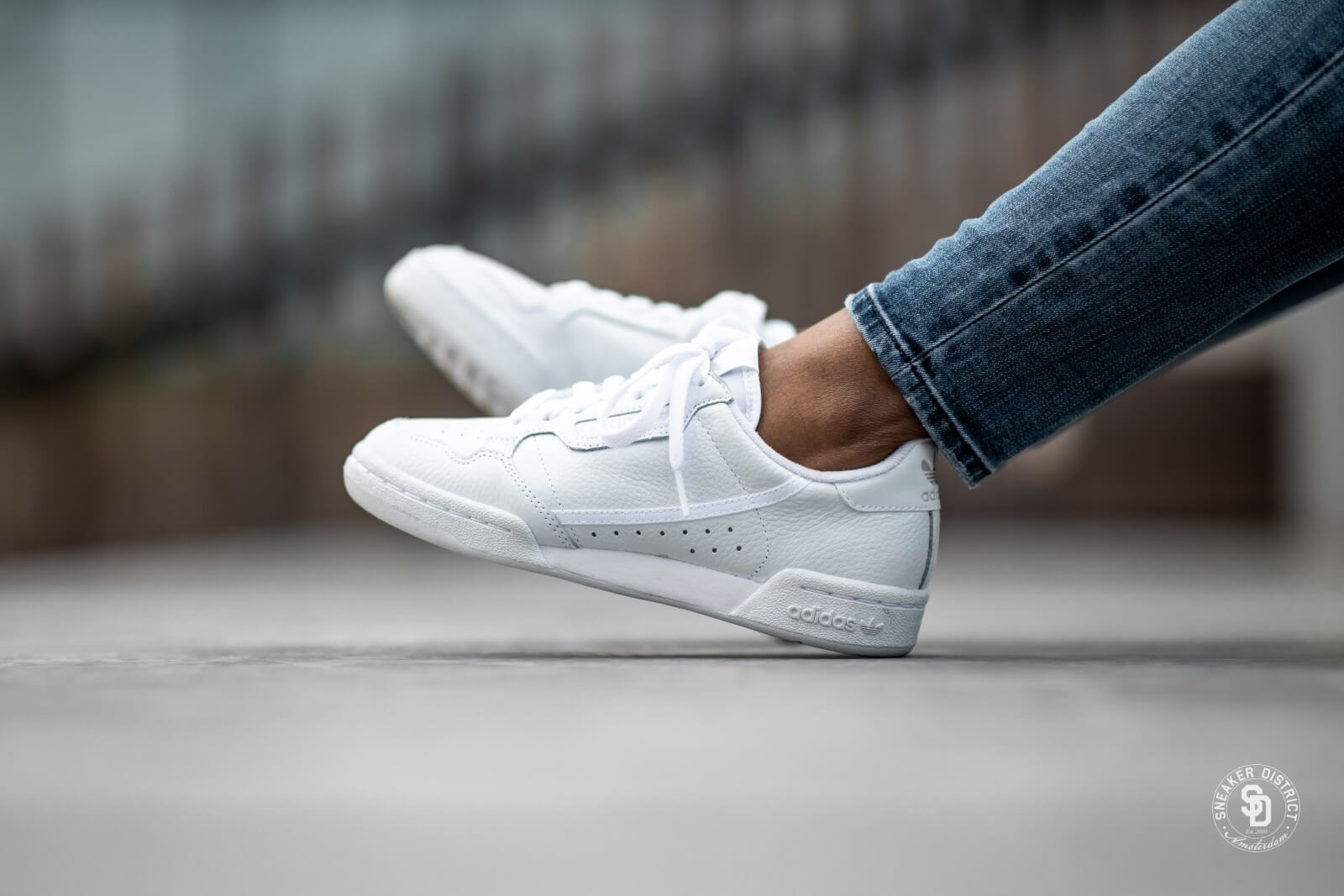 Adidas Continental 80 Footwear White/Grey - CG7120