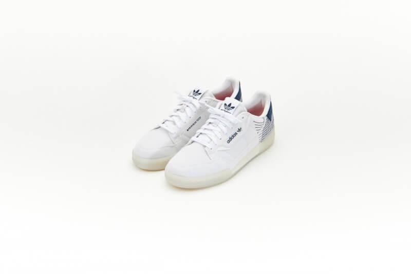 Adidas Continental 80 Primeblue Chalk White/Cloud White-Collegiate navy