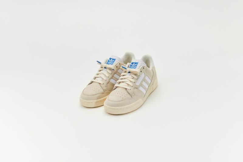 Adidas Continental 80 Premium Basics Pack Cream White/White-Blue Bird