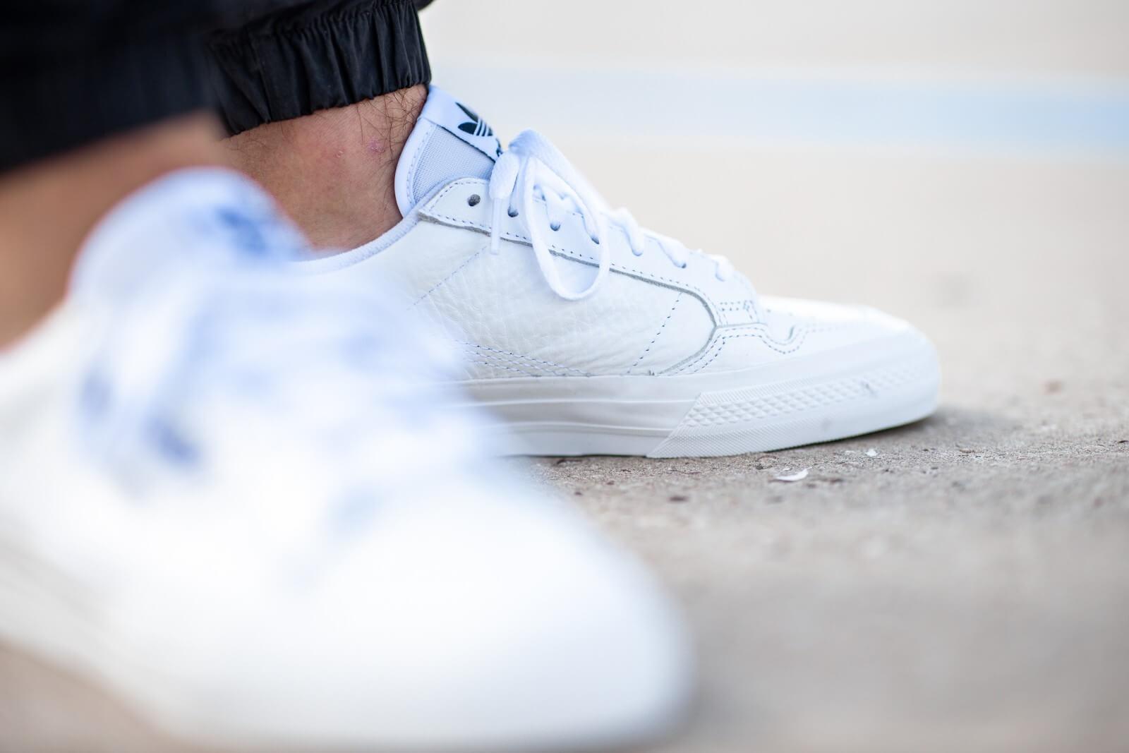 Adidas Continental Vulc Footwear White/Collegiate Navy - EG4588