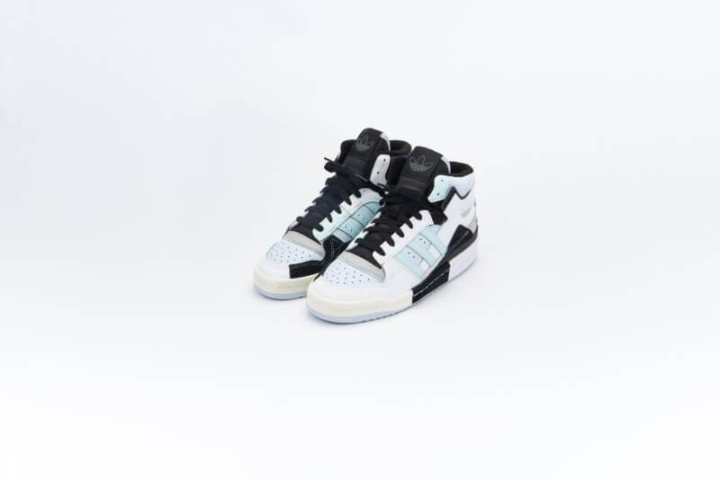 Adidas Forum Exhibit Mid Footwear White/Grey Two-Halo Mint