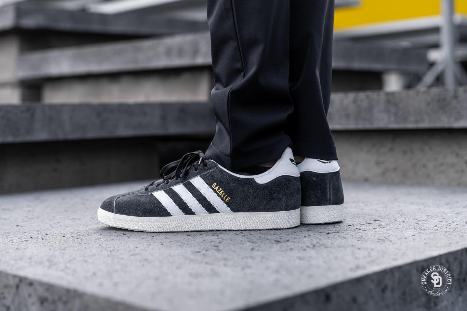 total Nueva Zelanda Invalidez  Adidas Gazelle Core Black/Footwear White - BD7591