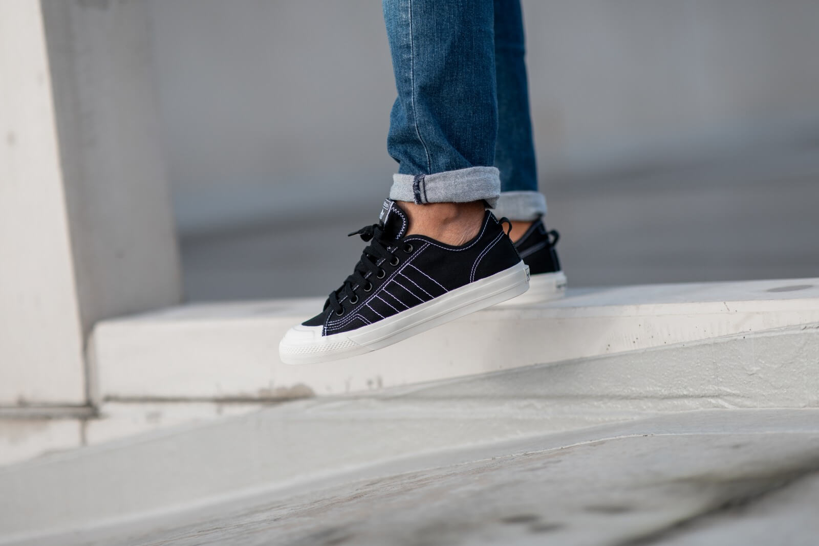 adidas nizza low dames