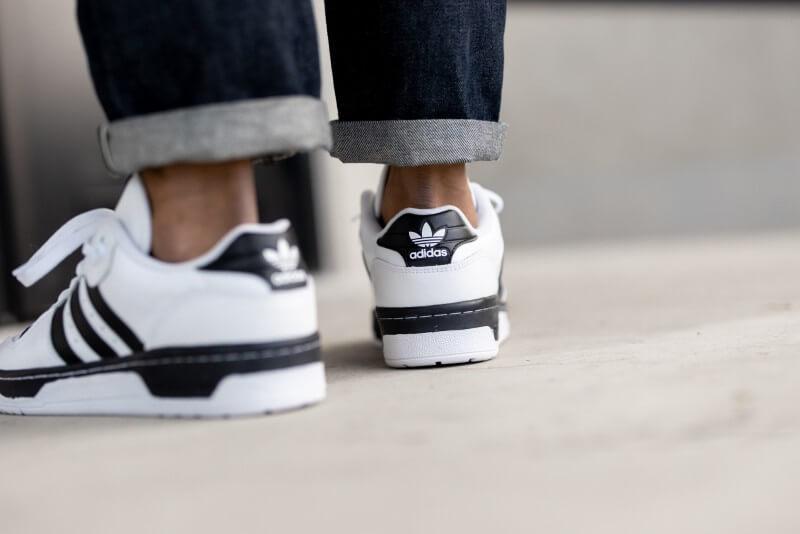 Adidas Rivalry Low Cloud White/Cloud White-Core Black