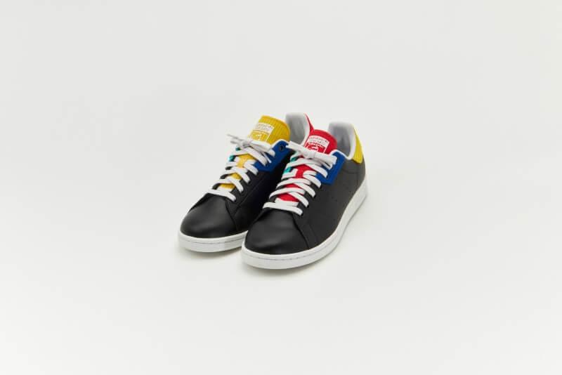 Adidas Stan Smith Core Black / Crystal White / Royal Blue