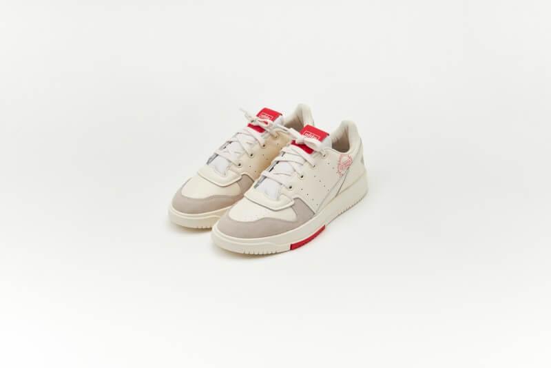 Adidas Supercourt 2 Chalk White/Vivid Red