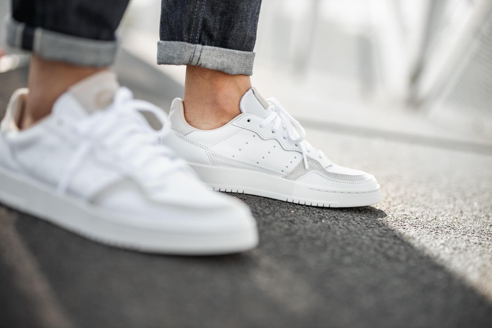 Adidas Supercourt Footwear WhiteCrystal White EE6034