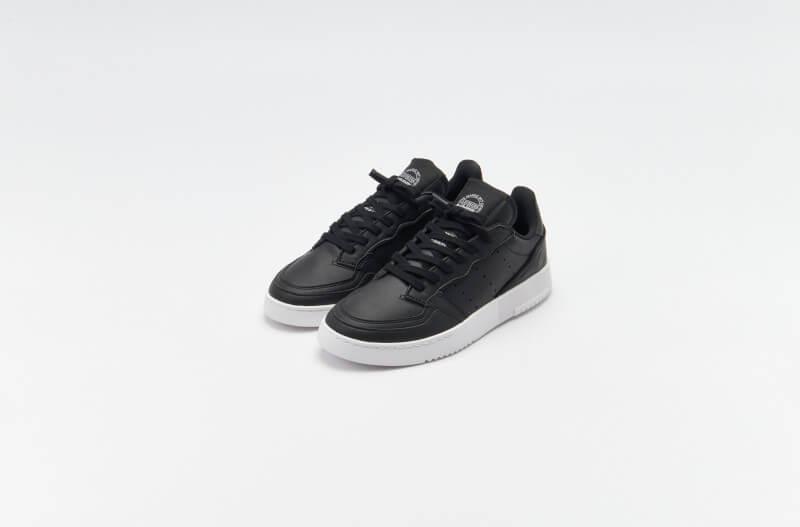 Adidas Supercourt Vegan Core Black / Core Black