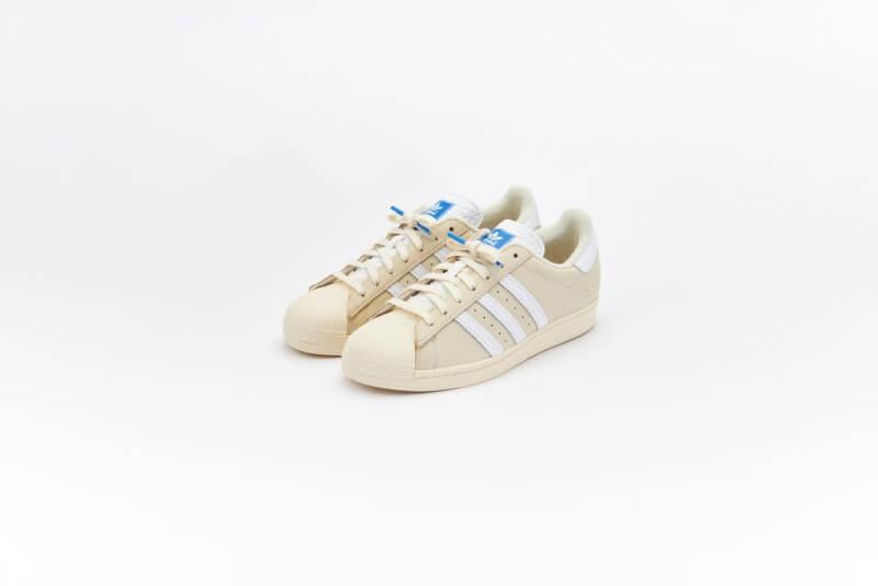 Adidas Superstar Premium Basics Pack Beige/Cream White-Blue Bird