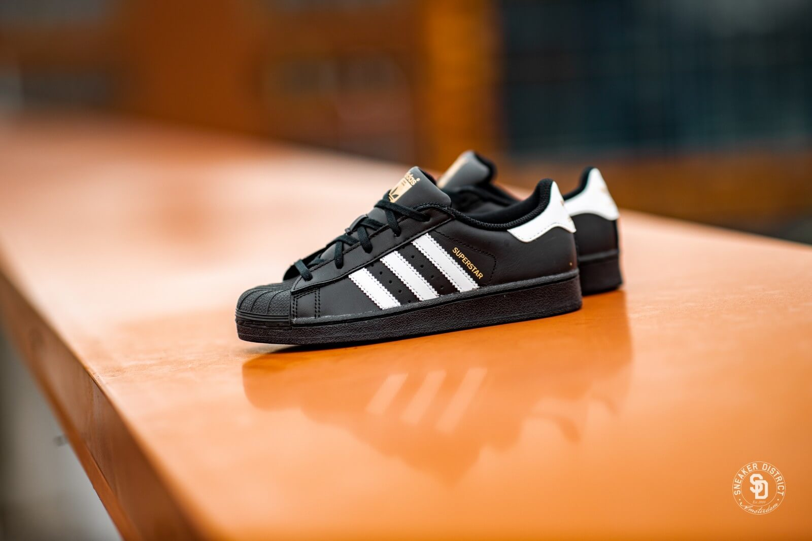 Adidas Superstar C Core BlackWhite BA8379