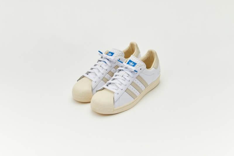 Adidas Superstar Cloud White / Cream White / Blue Bird