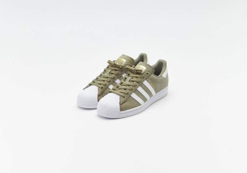 Adidas Superstar Orbit Green / Footwear White