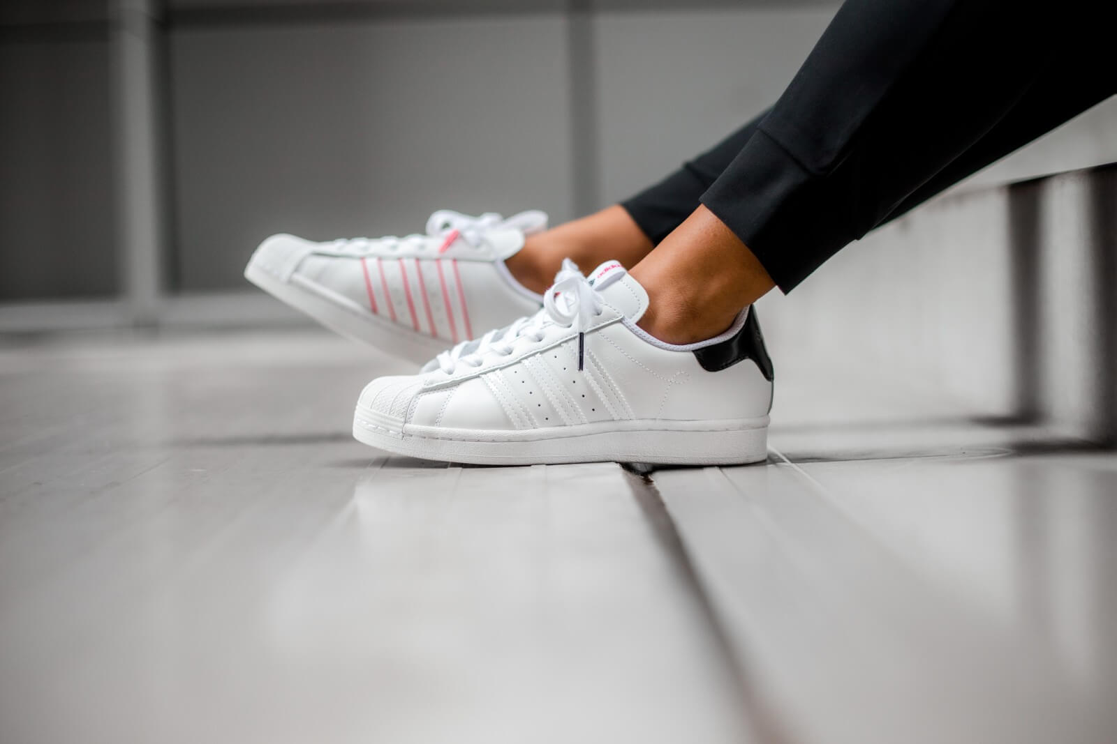 Adidas Superstar Adidas Superstar Shanghai Footwear White/Core Black-Shock Pink ...