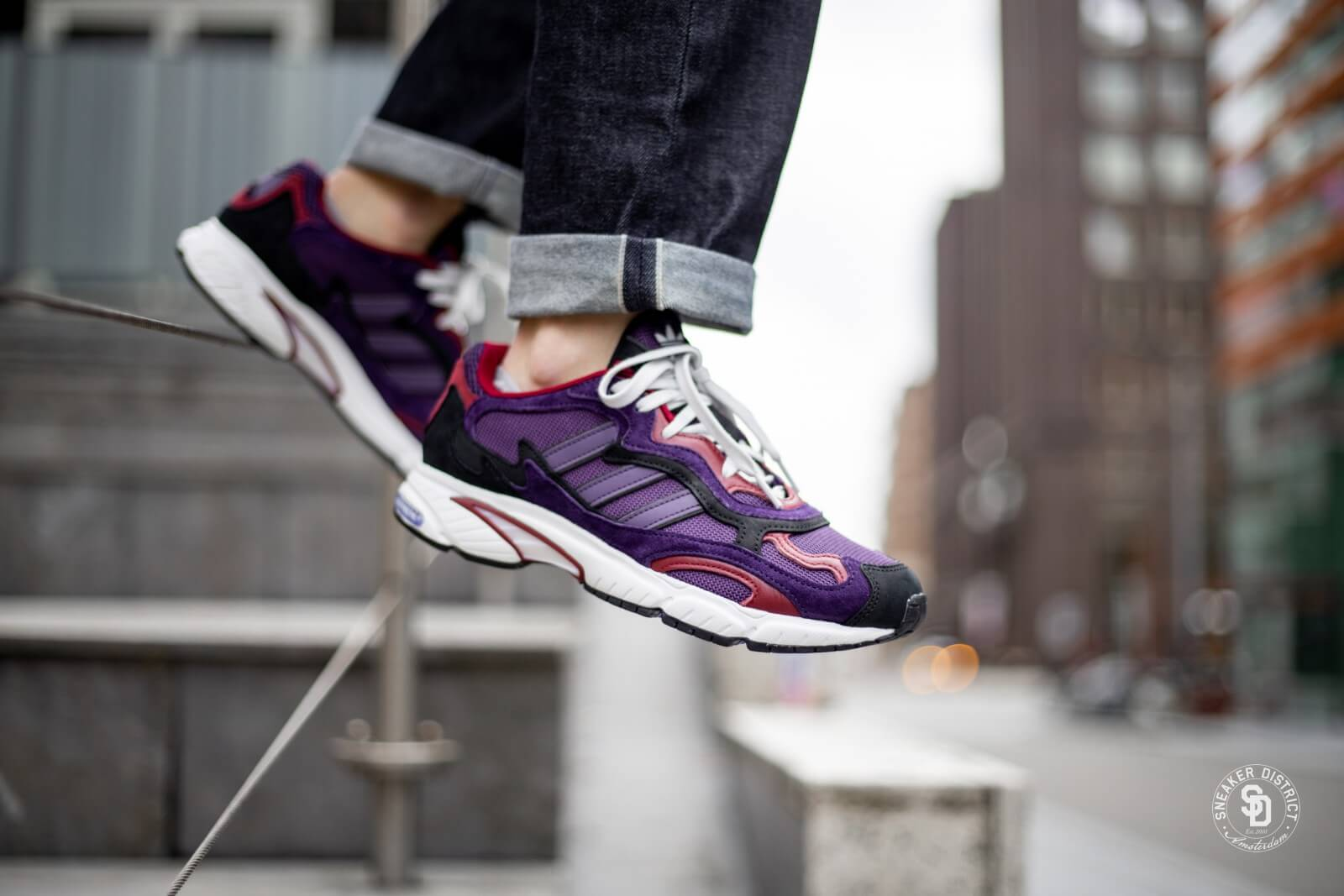 encima tanque Impresionismo  Adidas Temper Run Legend Purple/Burgundy - G27921