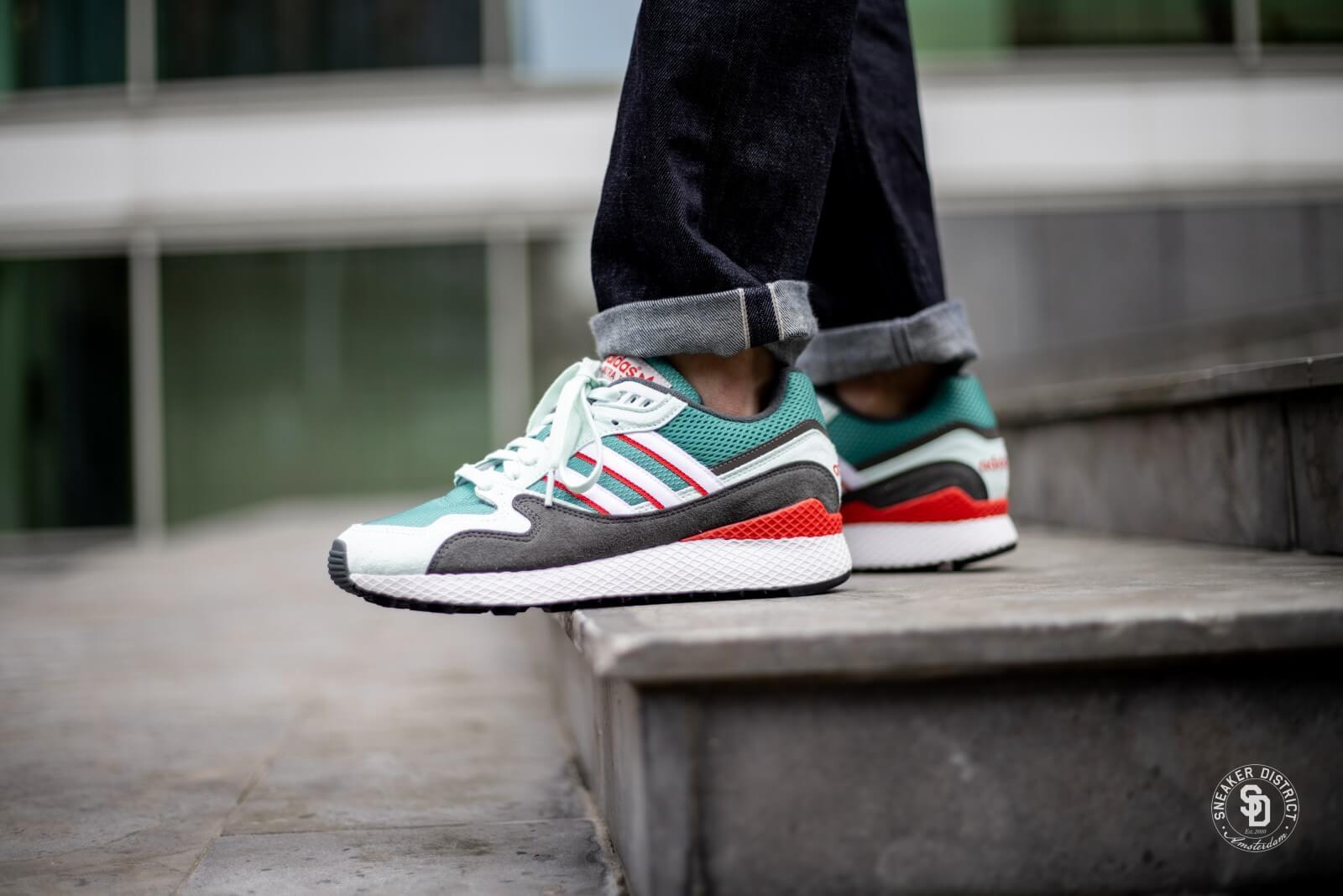 Original Advertencia No lo hagas  Adidas Ultra Tech True Green/Running White - BD7936