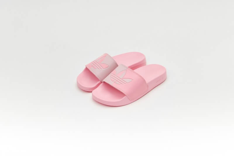 Adidas Women's Adilette Lite Clear Pink / Light Pink