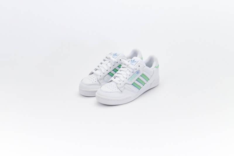 Adidas Women's Continental 80 Stripes Footwear White/Ambush Sky/Glow Mint