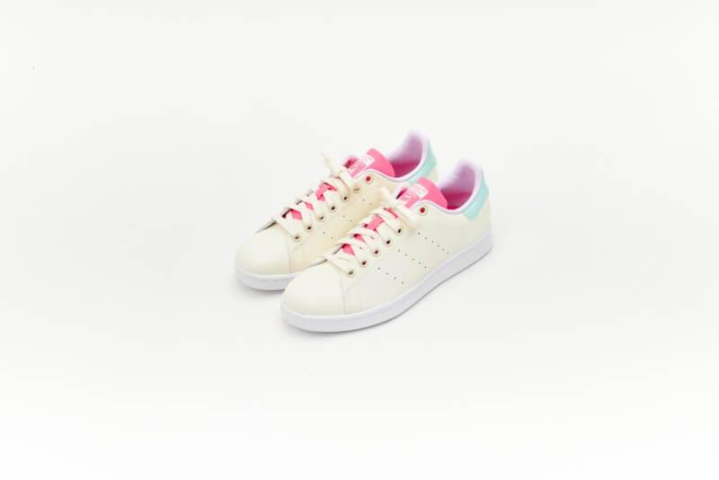 Adidas Women's Stan Smith Cream White/Clear Mint
